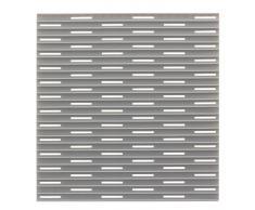 InterDesign Lineo Tappetino Lavandino, Plastica, grigio, 30.5x28x30.5 cm