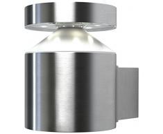 Osram Endura Style Cylinder Wall Applique 6 W, Argento
