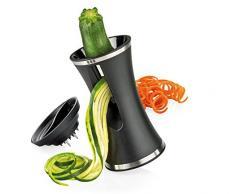Küchenprofi Cucina Professionale 1310191000 Vega telli affettatrice a Spirale, Plastica, Nero, 8.5 x 8.5 x 15 cm