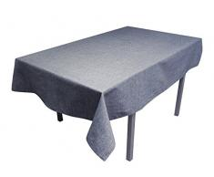 Tovaglia Rettangolare 140 x 240 cm Jeans Blu Marino