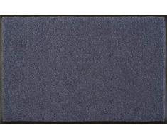 Wash+Dry - Tappeto Steel Blue 120x180, Blu