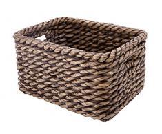 Kouboo Rettangolare Lampakanay cesta portaoggetti, Marrone Wash P, Brown Wash, 50.8 x 38.1 x 26.67 cm