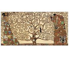 Artopweb, Klimt The Three Of Life, Quadro pronto da appendere, 100X50 Cm