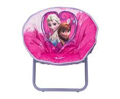 Delta TC85850FZ - Seggiolino per bambini Frozen, in acciaio/nylon/espanso, colore rosa, 51 x 44 x 46 cm