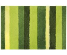 Spirella 10.16977 Tappeto Bagno Lineato 70 x 120 cm, Verde