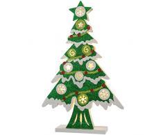 WeRChristmas-Albero di Natale decorazione, Multicolore, 44cm