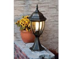 Lampada base rustica da esterno TORONTO IP44 50 cm di altezza in alluminio E27 percorso lampada da giardino cortile dingresso