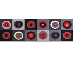 Wash+Dry - Tappeto Sergej Grey 60x180, Grigio