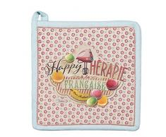 Natives 610530 Happy thérapie-macarons Presina cotone multicolore 20 x 20 x 2 cm