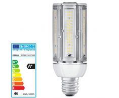 Osram LED della lampadina, Vetro, E40, 46Â W, Bianco, 8Â x 8Â x 21Â cm