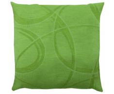 Home fashion Merlind 66757-168 - Fodera per Cuscino Decorativo, 40 x 40 cm, Colore: Verde