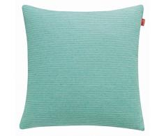 Esprit Home 21455-091-38-38 - Federa per cuscino Needlestripe Gre, 38 x 38 cm, verde