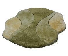 Kleine Wolke Excelsior - Tappetino da Bagno 75 x 105 cm Verde