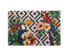 Excelsa Tropical Zerbino Ingresso, Fibra di Cocco, Multicolore, 40 x 60 cm