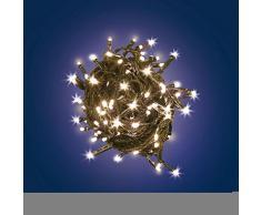 Xmas King Catena Batteria c/TMR Classic Illuminazione di Natale 8024199032354, Multicolore, Unica