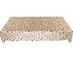Tovaglia In Vinile+Cotone Stampata Toiletpaper Cm.140X240-Mix