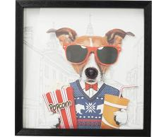 Kare Cinema Dog Quadro, Multicolore, One Size