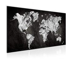 Quadro Mappa - XXL Immagini Murale Stampa su Tela Decorazione da Parete Pronte per lapplicazione - 002912a