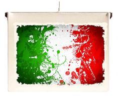 Capricci Italiani Lampada Quadro a Sospensione da soffitto Bandiera Italia