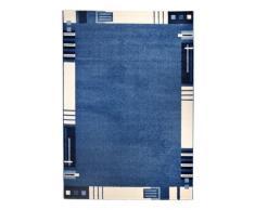 Andiamo 1100307 - Tappeto Le Havre con bordino, 60 x 110 cm, colore: Blu