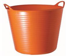 Decco Ltd Tubtrugs - Mastello Flessibile, Misura Grande, 38 l 42 Litre Arancione