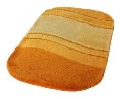 Kleine Wolke Tappeto da Bagno Serie Siesta, Poliacrilico, Safran, 60 x 100 cm