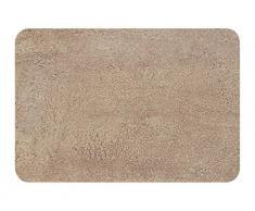 Spirella 10.15280 - Tappetino per il bagno non sagomato Lamb, 55 x 65 cm, colore: Nougat