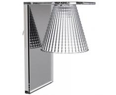 Kartell Light-Air Lampada Applique, Cristallo
