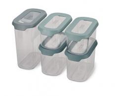 Joseph Joseph CupboardStore Set di 5 contenitori con paletta per credenza - Opale