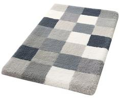 Kleine Wolke Textilgesellschaft Tappeto da Bagno Caro 50Â x 120Â cm, poliacrilico, Grigio Chiaro, 50Â x 120Â x 2,5Â cm