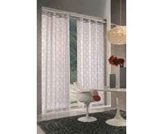 Home Collection IVY135 Tenda Ivy, Poliestere, Tortora, 140x280 cm