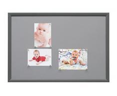 Deknudt Frames S54ST8 40 x 60 Lavagna Magnetica Grigio di Legno