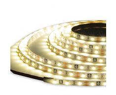 Giocoplast Natale 167 10951 Tape Light Luce Fissa, 6 Metri, 360 LED, Bianco Caldo