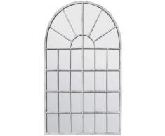 MirrorOutlet Grande Bianco Sporco Giardino Arco Rustico Parete Specchio 2Â FT7Â x 1Â FT8Â (79Â cm x 51Â cm)