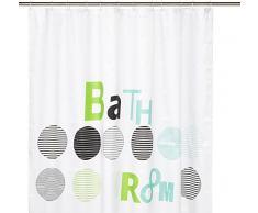 Kleine Wolke Bathroom - Tenda Doccia di Alta qualità in Poliestere, Larghezza 180 cm, Lunghezza 200 cm