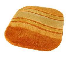 Kleine Wolke Tappeto da bagno serieSiesta, Poliacrilico, safran, 55 x 65 cm