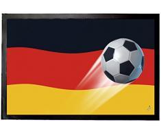 1art1 96968 - Zerbino con Bandiera della Germania, 60 x 40 cm