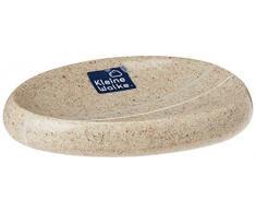 Kleine Wolke Stones 5080226853 - Piattino Porta Sapone, Colore: Beige Sabbia