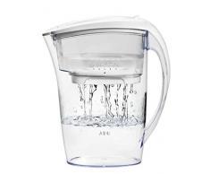 AEG AWFLJP1 Acqua Filtro caraffa Aqua Sense Pure, per 1,7 L di Acqua filtrata, Bianco