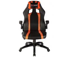 Mars Gaming Gaming Chair 2 Sedia Gaming Mgc2Bo Colorazione Deep Black And Orange