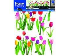 Nouvelles Images Adesivi finestre Tulipani Nuove Immagini