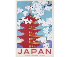 1art1 Affissione - Japan Railways Poster Stampa (91 x 61cm)