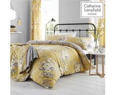 Catherine Lansfield copripiumino, giallo, 260Â cm x 220Â cm
