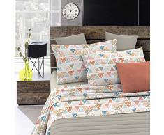 Italian Bed Linen Fantasy Completo Letto, Microfibra, Different, A Una Piazza e Mezza