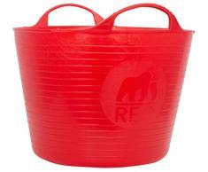 Faulks & Cox Tubtrugs - Secchio Contenitore da 16 L, Red, 3.5 Gallon