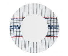 Quid 4187249 Concept Excellence - Servizio da 6 piatti in porcellana, 31 cm, colore: Vibracion