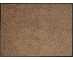 ID Opaco C9014018 Confor Tappeto Zerbino in Fibra di Nylon, caucciù, Nitrile, Colore: Tortora, Marrone, 40 x 60 cm