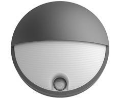 Philips myGarden 1645693P3 Illuminazione da Parete da Esterno Antracite, Bianco LED 6 W