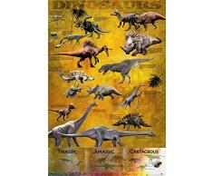 GB eye LTD, Dinosaurs, Chart, Maxi Poster, 61 x 91,5 cm