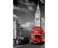 GB Eye, London, Piccadilly Bus and Taxi, Maxi Poster, 61x91.5cm
